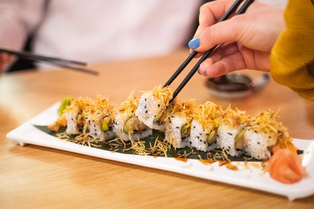 Sushi, Ursprungsland Japan