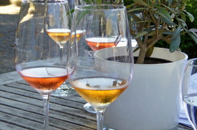 Neue Weintrends - Orange Wine im Glas