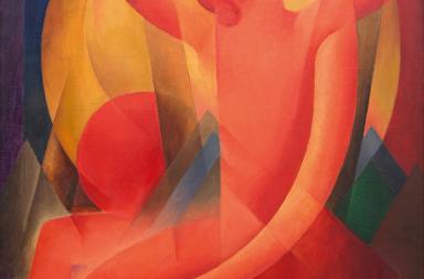 Gottfried Graf GANYMED II, 1921, Öl auf Leinwand, 127 × 85 cm, Kunstsammlung der Oberschwäbischen Elektrizitätswerke (OEW)/Landkreis Sigmaringen, Foto: Reiner Löbe