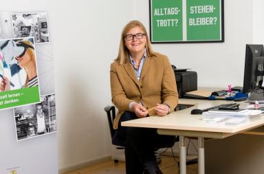 Rita Hafner-Degen vom Regionalbüro für berufliche Fortbildung