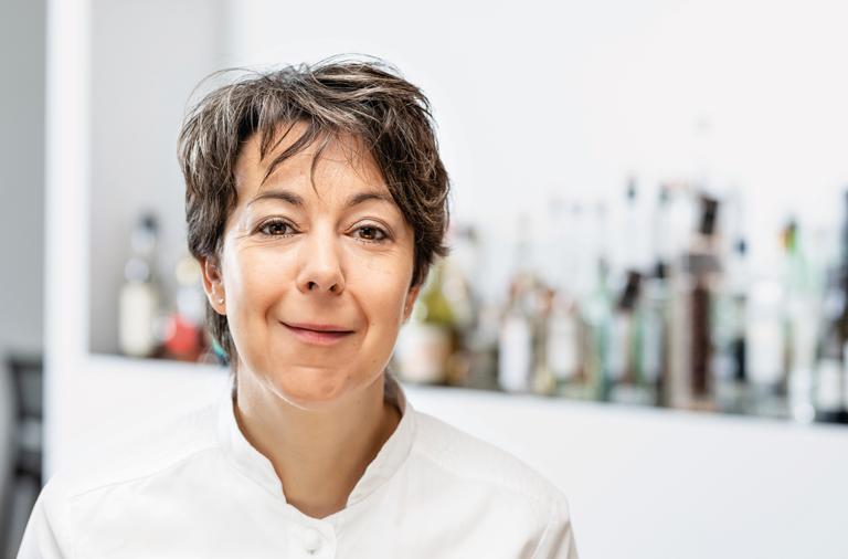 """Bernadette Lisibach: Küchenchefin der """"Neuen Blumenau"""" in Lömmenschwil"""